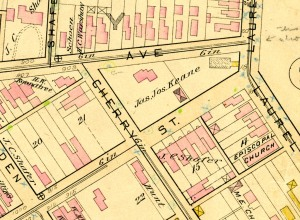 Baist Atlas of Richmond 1889, Special Collections and Archives, James Branch Cabell Library, VCU Libraries