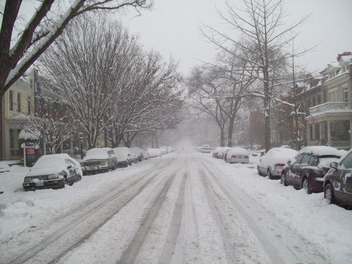 Wintery Richmond City