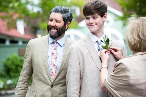 Gregg and his son Trevor