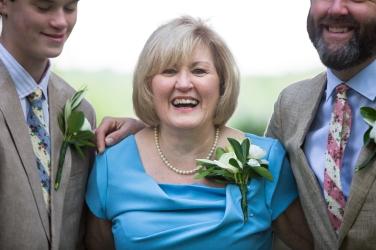 Gregg's mom Linda